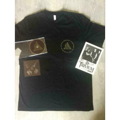 TRIVIUM The Sin and The Sentence gesigneerd cd, foto ,shirt