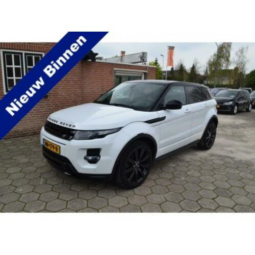 Land Rover Range Rover Evoque 2.2 SD4 4WD DYNAMIC HSE BLACK