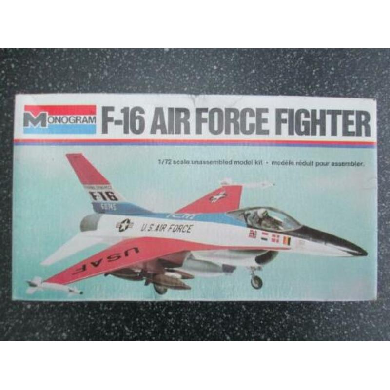 Monogram | F-16 Air Force Fighter | 1:72