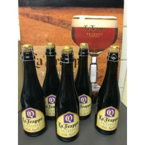 5 flessen La Trappe Oak Aged batch 20