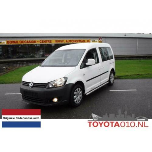 Volkswagen Caddy 2.0 CNG 5 Pers BPM VRIJ Airco (bj 2010)