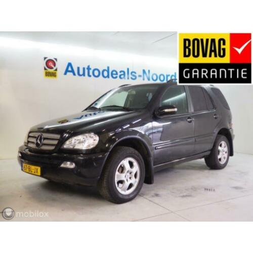 Mercedes M-klasse ML 270 CDI Super aanbieding